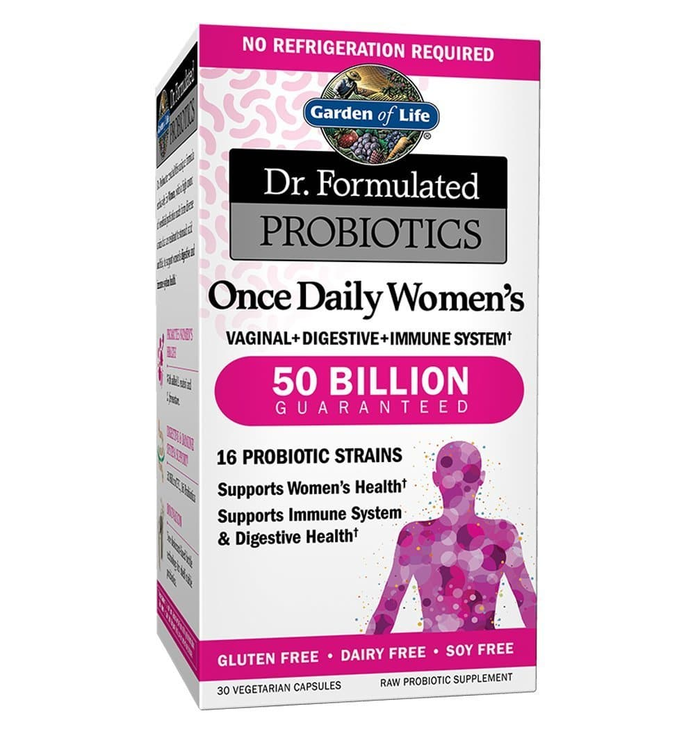 Garden of Life Probiotics Supplement for Women Packaging