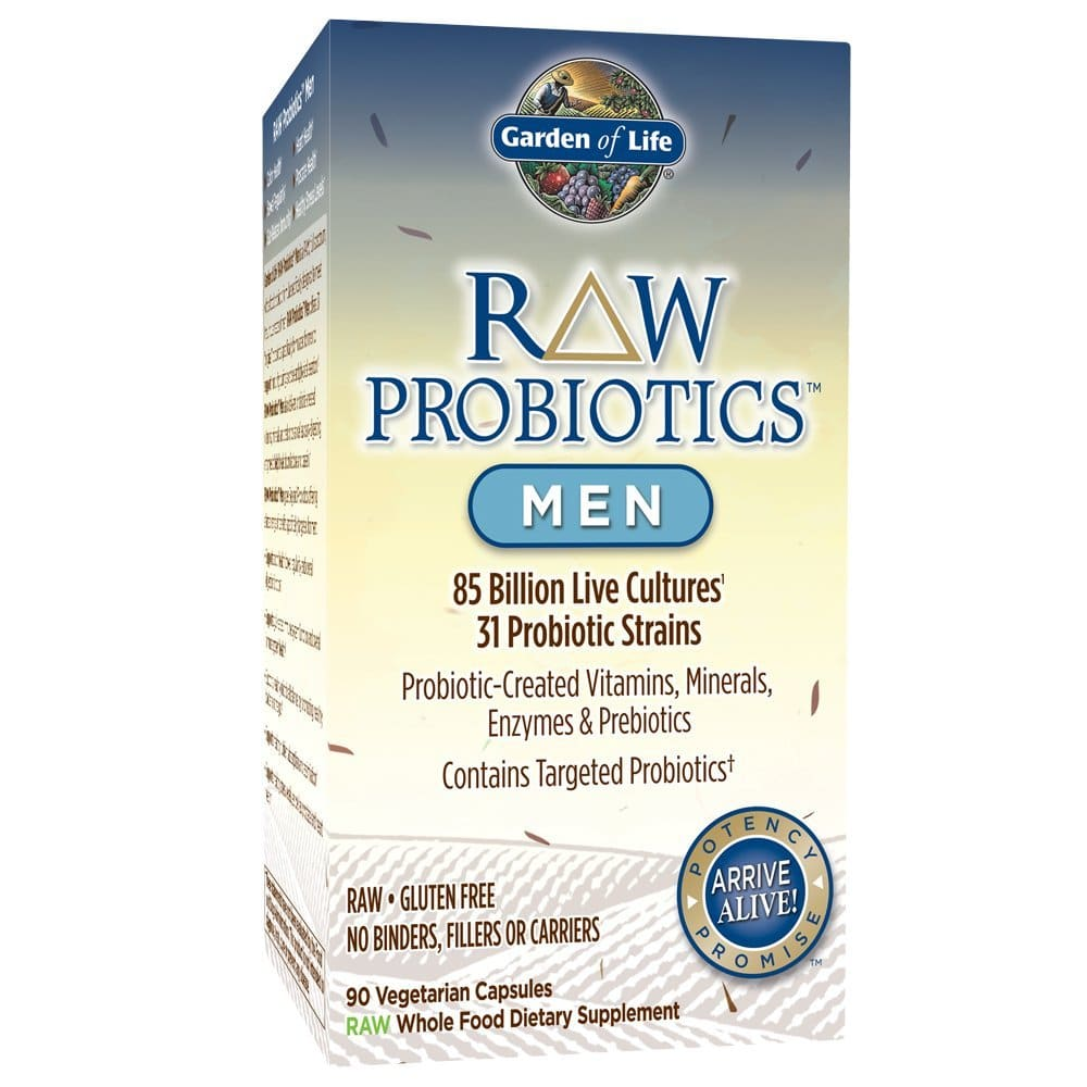 Garden of Life - RAW Probiotics Men Packaging