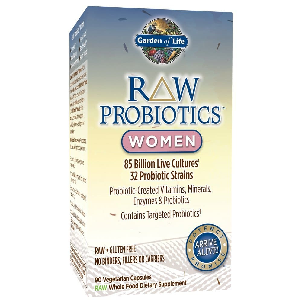 Garden of Life - RAW Probiotics Women Packaging