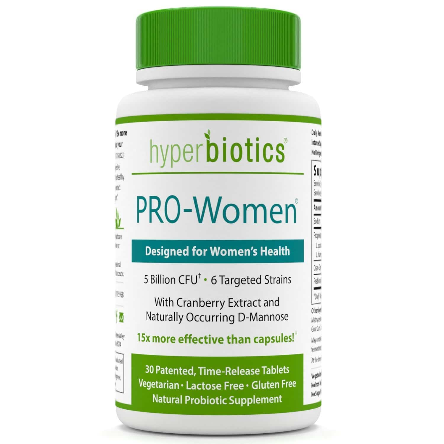 Bottle of PRO-Women Probiotics for Women