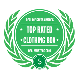 clothing box badge, dealmeisters