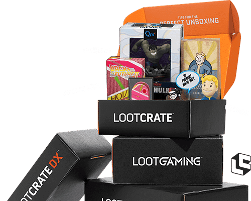 Loot Crate Boxes