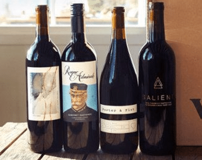 4 winc wine bottles