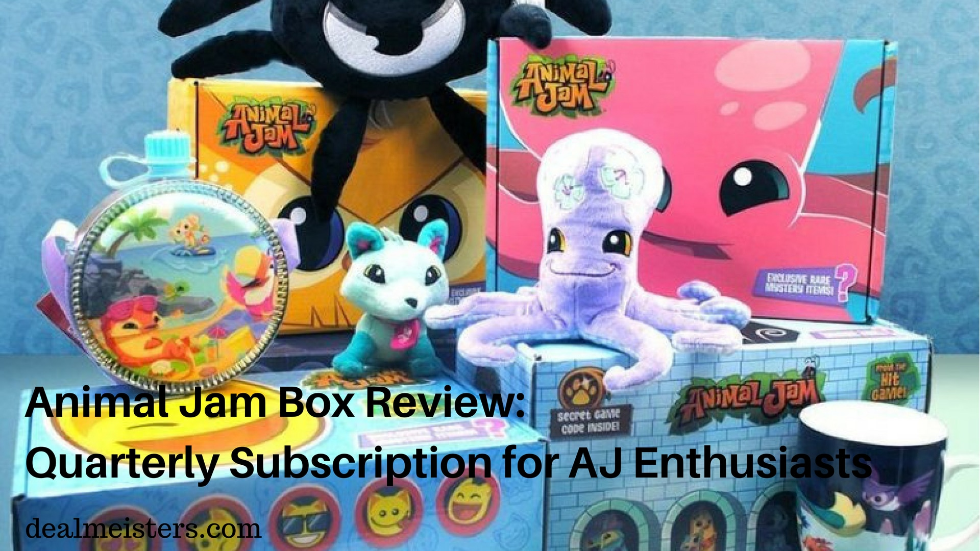 animal jam box review: quarterly subscription for aj enthusiasts