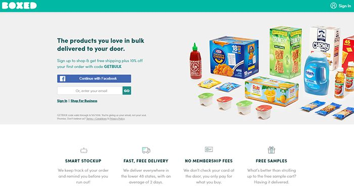 Box.com website screenshot