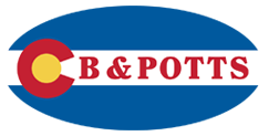 cb potts logo