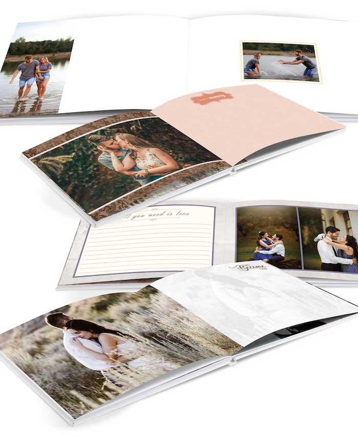 guest book style photo album